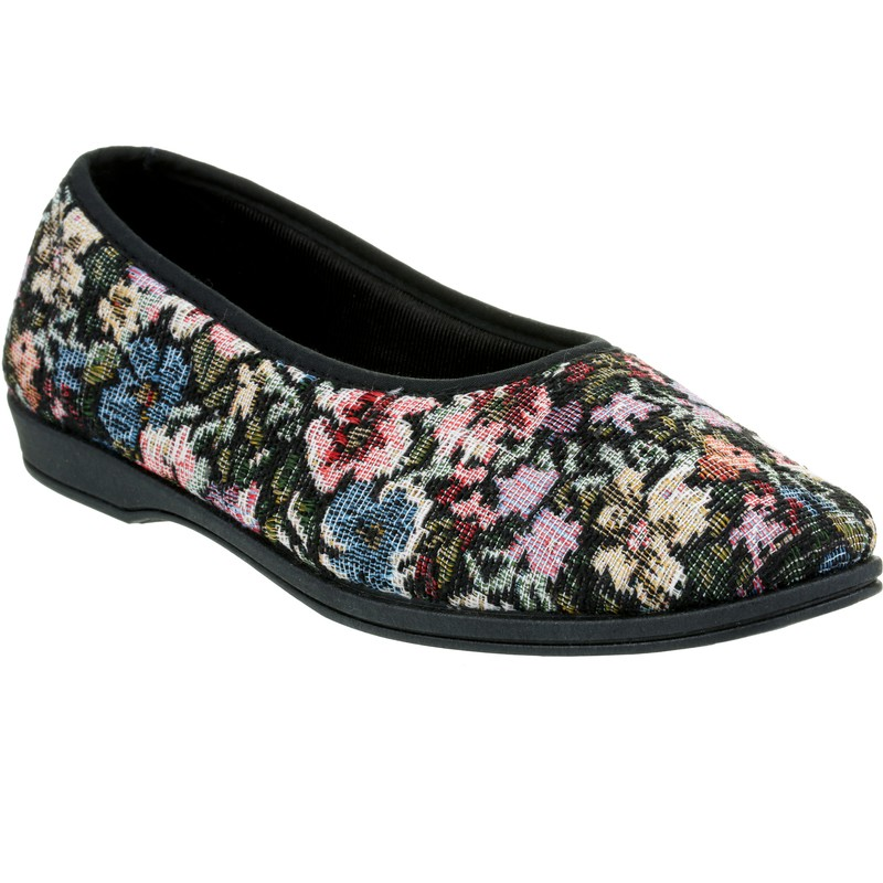 Ladies Backless Slip On Shoes