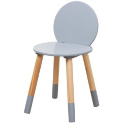 Stool Chair Big W Cream Tufted Office Furniture Home Kodu Kids Grey
