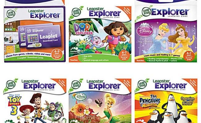 Leapfrog Leapster Explorer Games Various Titles Big W