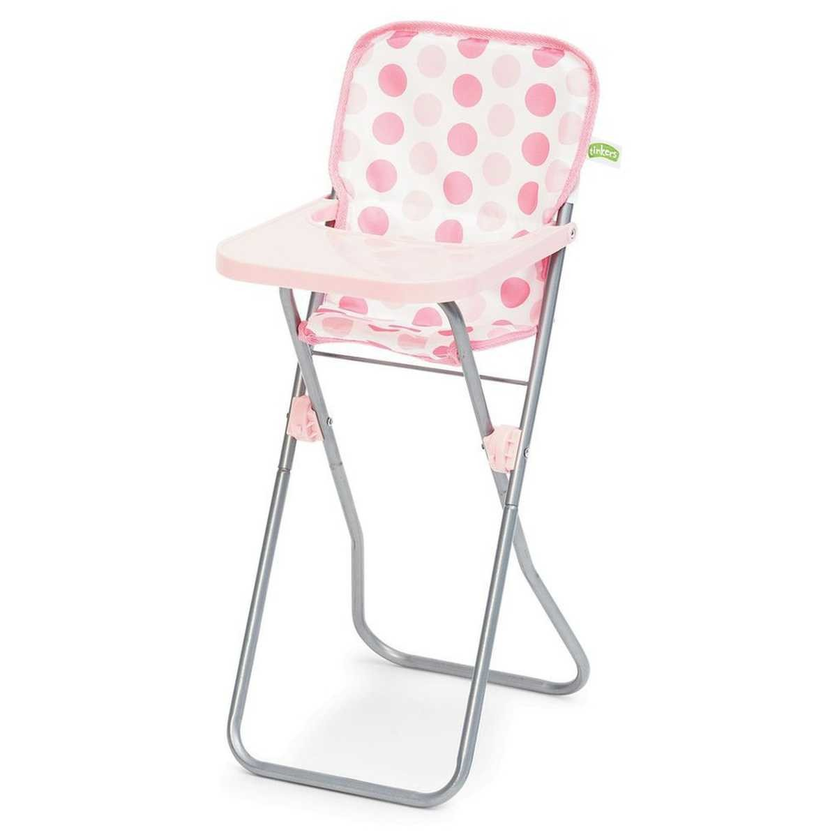high chair for dolls heel shoe furniture tinkers doll pink big w