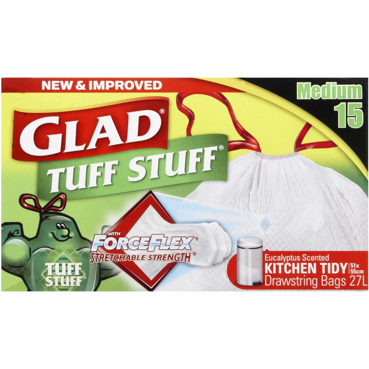 glad kitchen bags light fixture tidy tuff stuff medium 15 pack big w