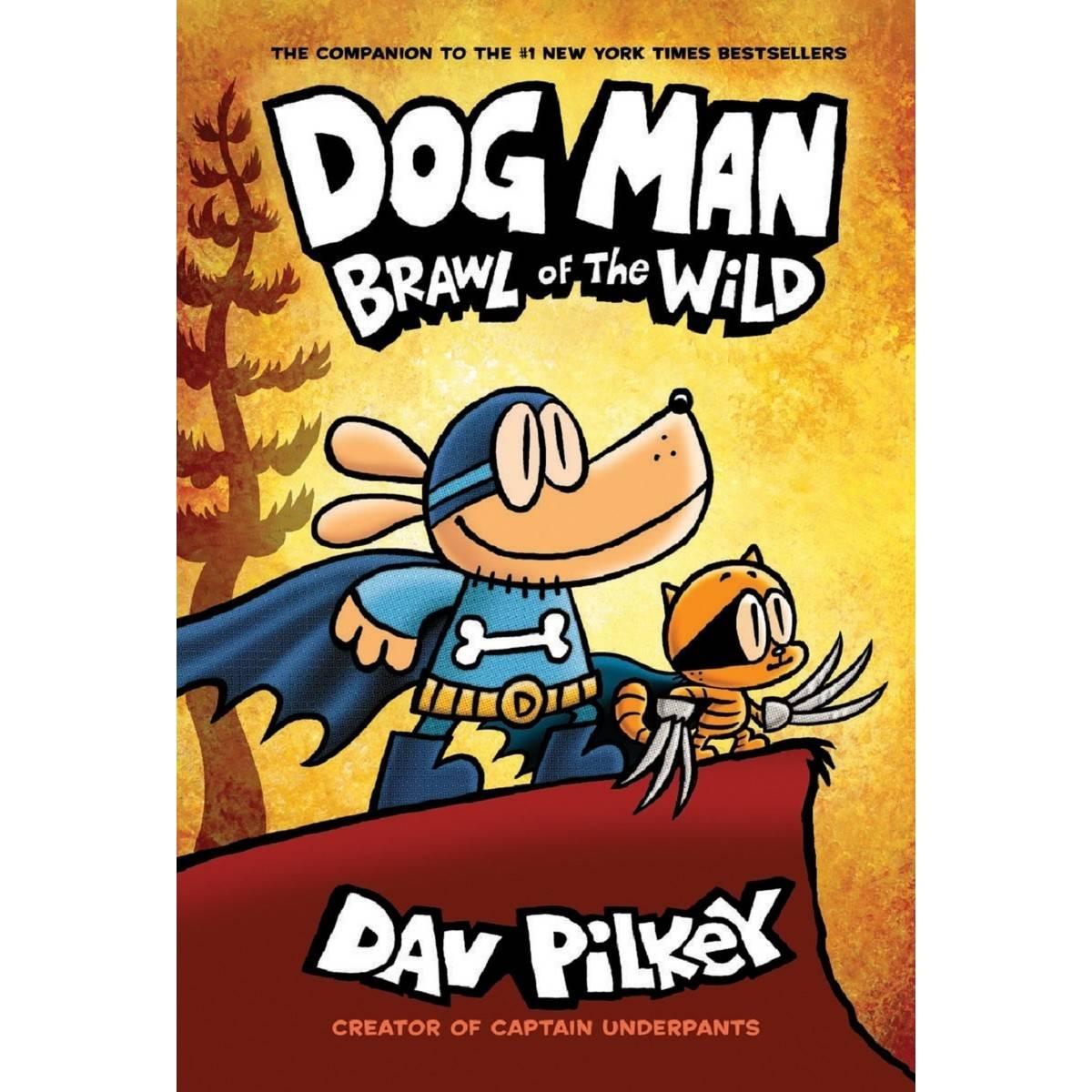 Dog Man Brawl of the Wild Dog Man 6  BIG W