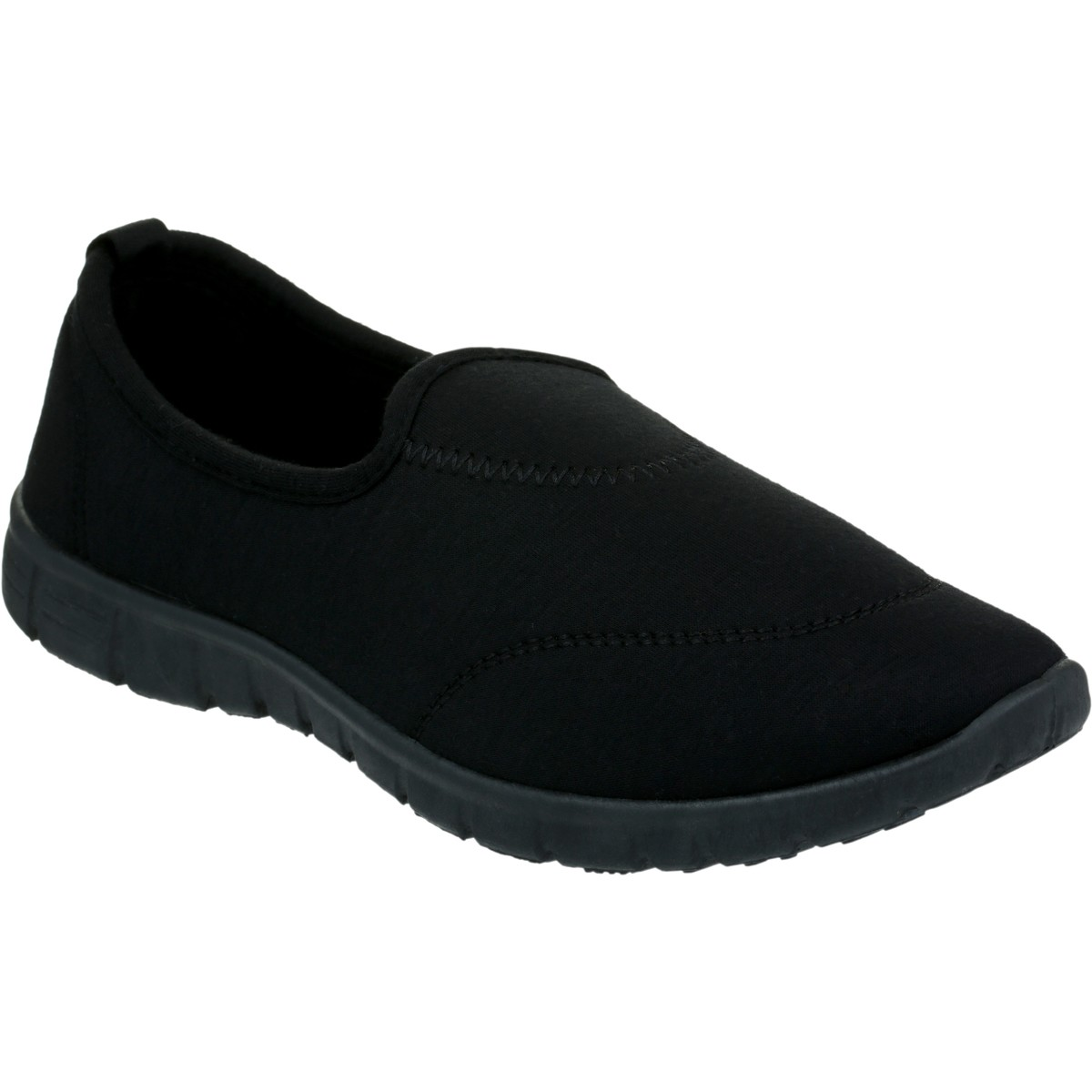 Womens Casual Slip On Shoes Black