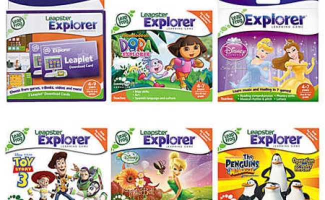 Leapfrog Leapster Explorer Games Various Titles Big W