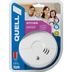 Kitchen Smoke Detector Ashley Furniture Table And Chairs Chubb Quell Alarm Big W Need More Time