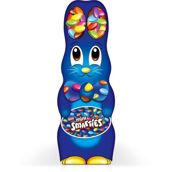 Nestle Mini Smarties Chocolate Easter Bunny - 180g Big