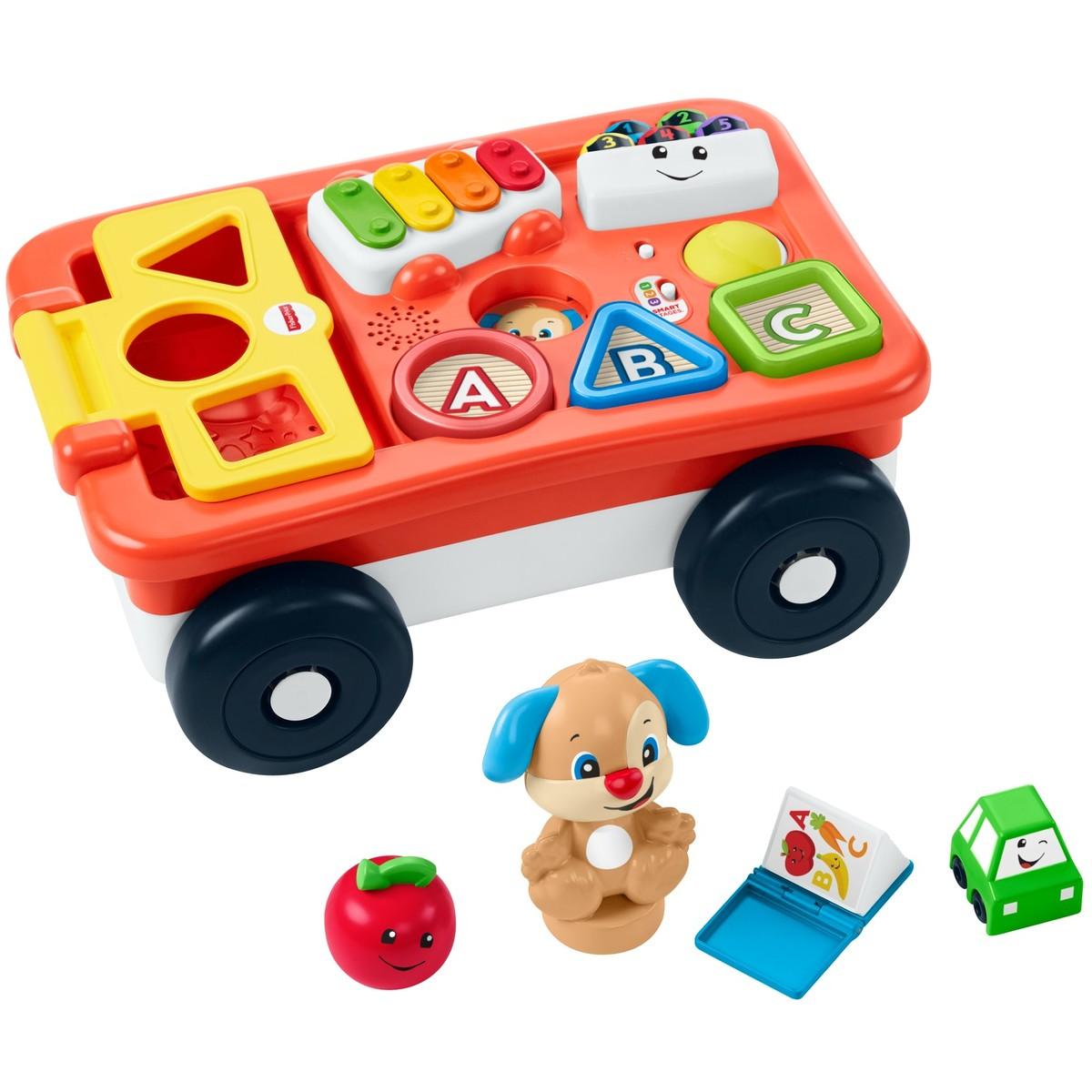 Fisher-Price Pull & Play Learning Wagon   BIG W