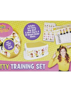 The wiggles potty training set emma also big  rh bigw