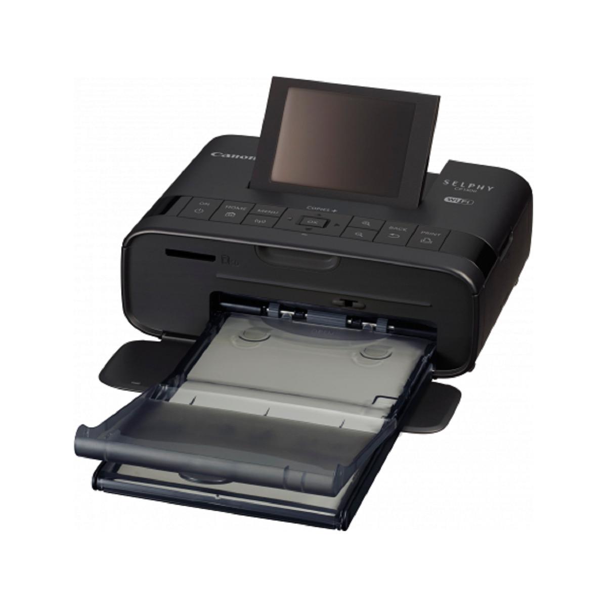 Canon Selphy CP1300 Compact Photo Printer - Black   BIG W