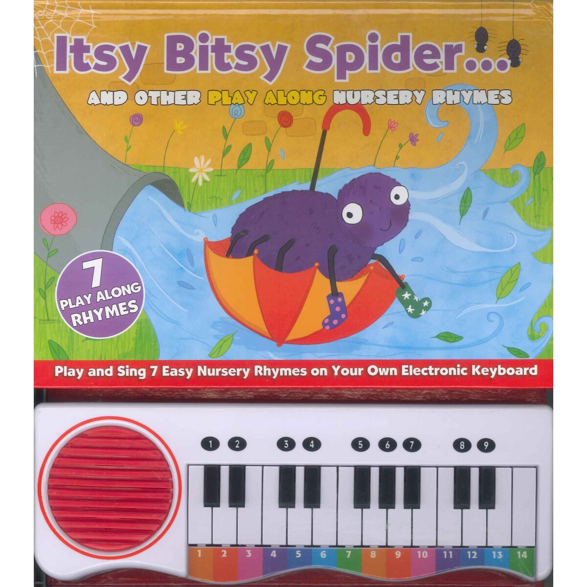 Itsy Bitsy Spider And Other Play Along Nursery Rhymes
