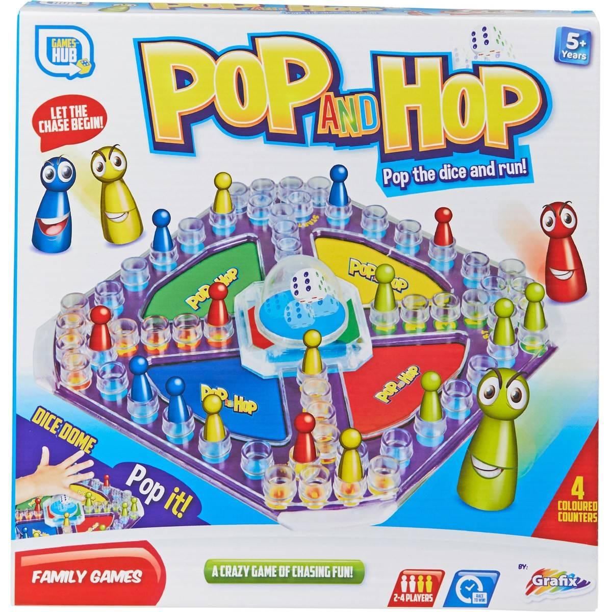Grafix Pop And Hop Game