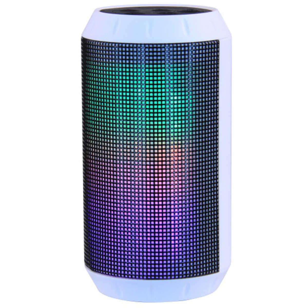 Laser Wireless Speaker with LED Lights  FM Radio