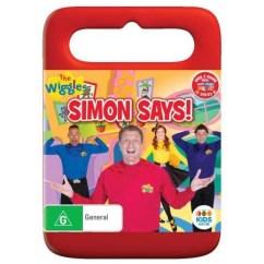 Baby Travel High Chair Chair- Bar Stool Cushion The Wiggles: Simon Says! | Dvd Big W