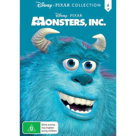 Monsters Inc  Disney Pixar Collection  DVD  BIG W