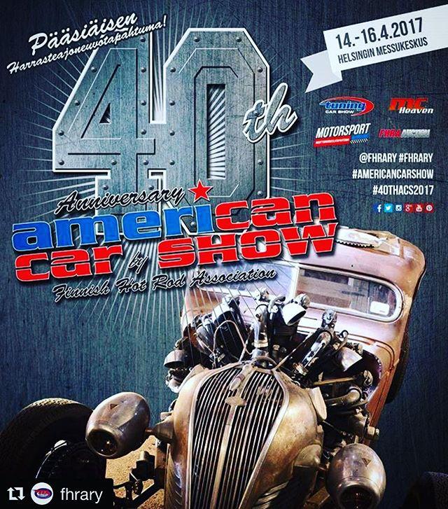 Big Wheels on mukana @fhrary:n 40th American Car Showssa pääsiäisenä Helsingin Messukeskuksessa.