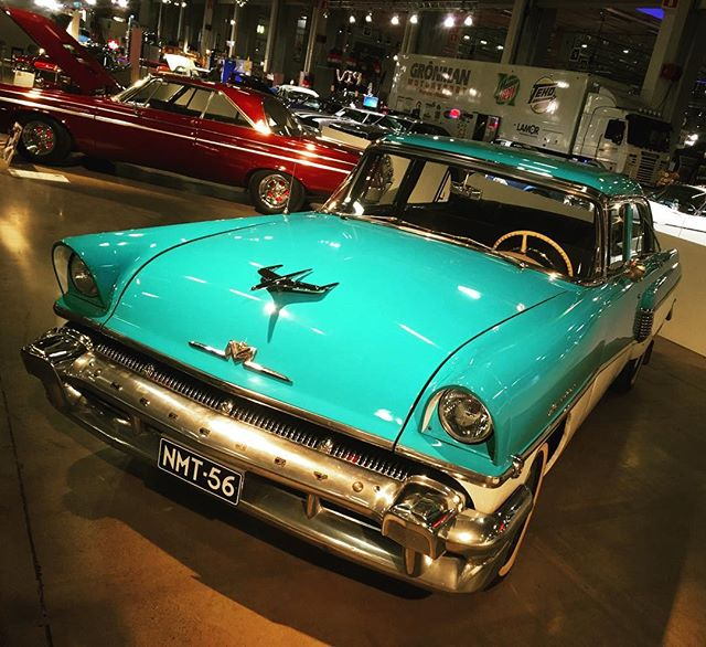 1956 Mercury Monterey at American Car Show, Helsinki.