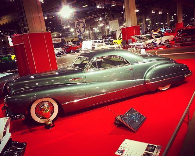 Incredible 1947 Buick Sedanette kustom by Petri Terho. American Car Show, Helsinki.