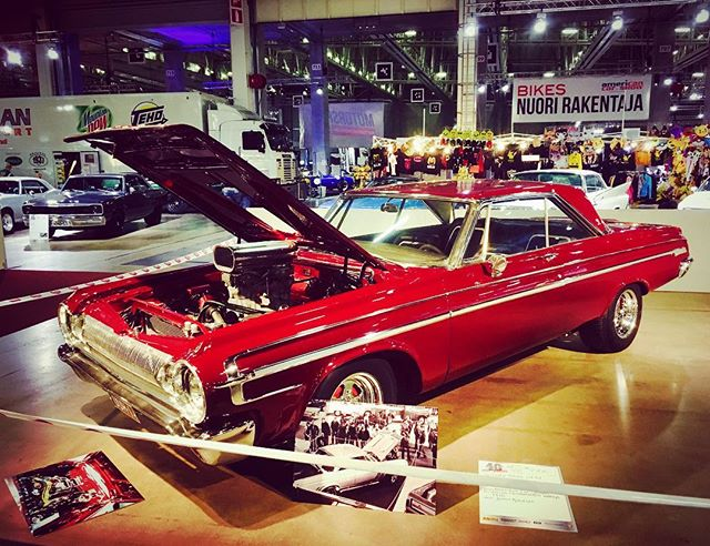 Legendary Finnish custom-built Dodge Polara at 40th American Car Show, Helsinki.