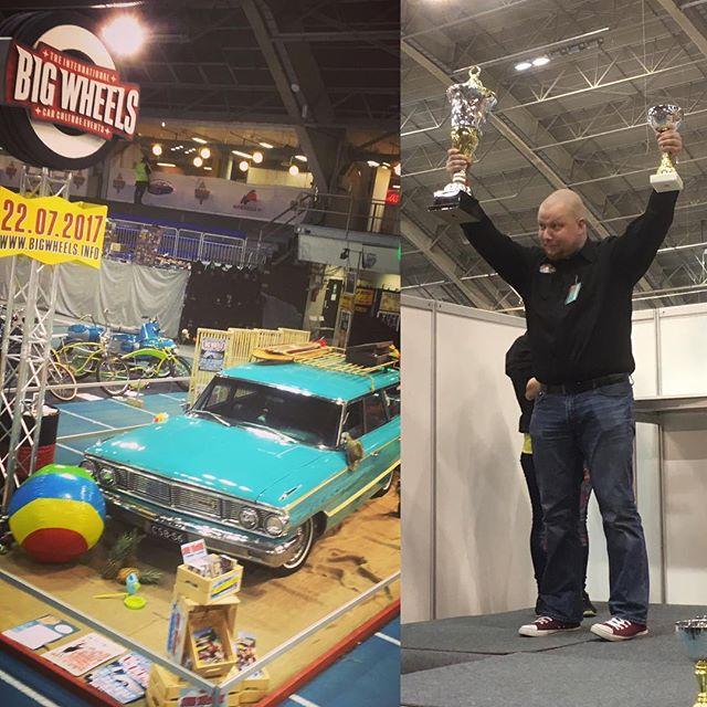 Wow! USA Car Club & Big Wheels won the 1st prize in club decorations!