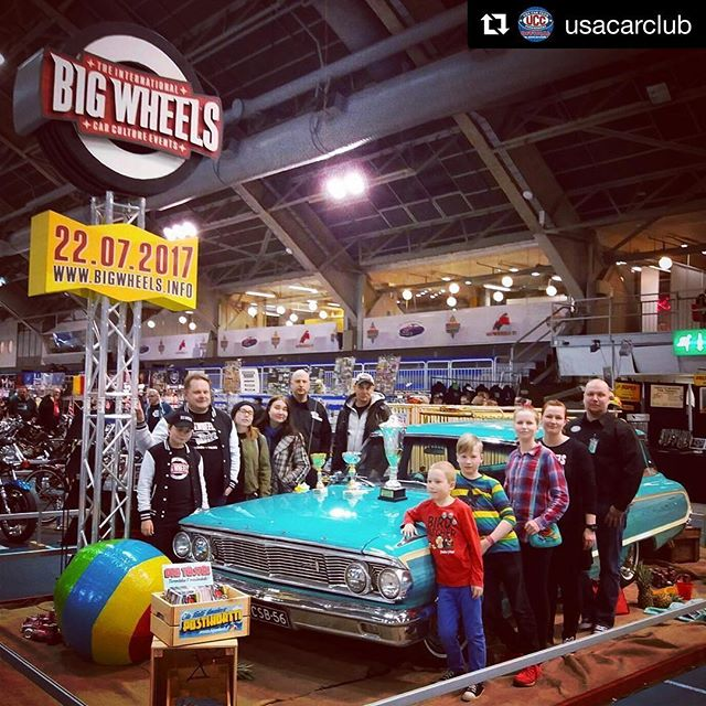 Making of a great event always starts with great people. You need a good team behind the scenes and we here at the @bigwheelsevents are happy to have @usacarclub working with us 🏻