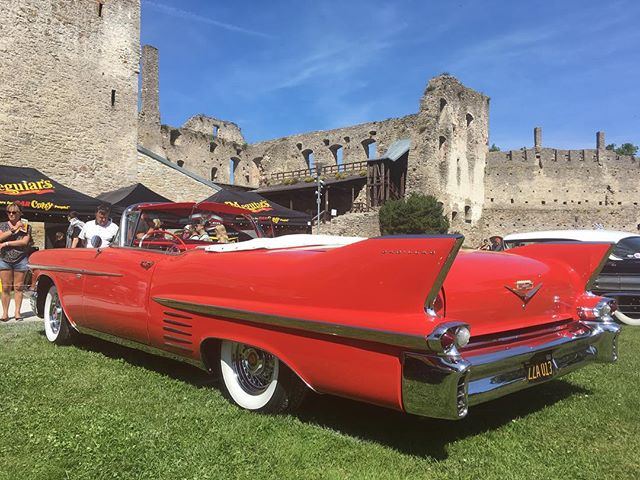 American Beauty Car Show, Haapsalu, Estonia