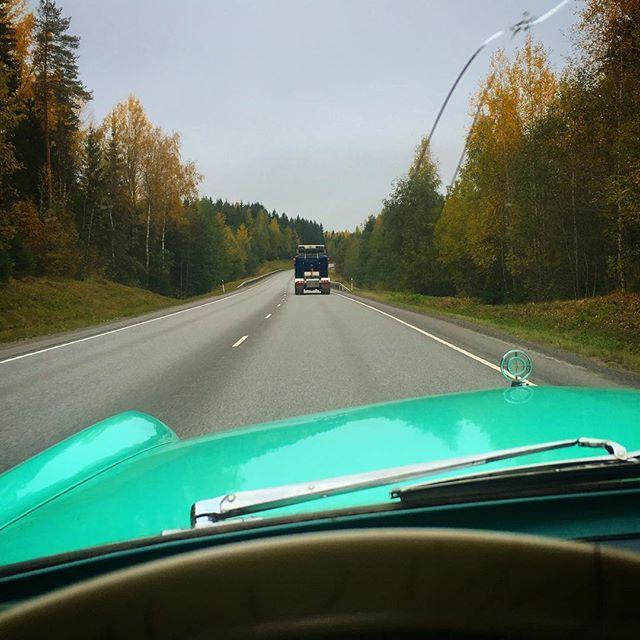 Southbound towards Lahti.
