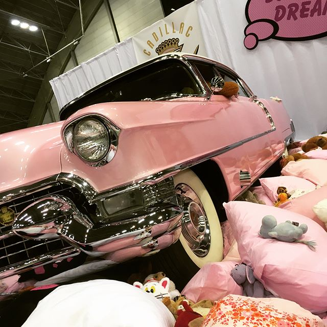 Cadillac Club's stand deserves another look! Hot Rod & Rock Show, Tampere, Finland. @cadillac_club_of_finland