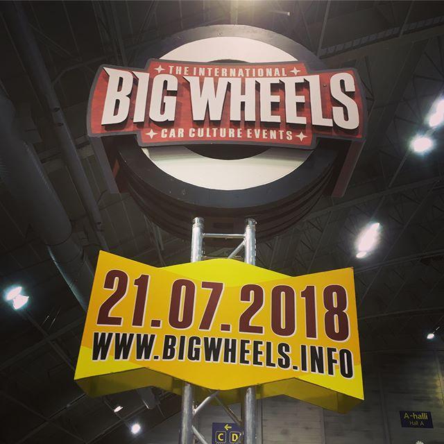 We're ready! Big Wheels, UCC ry ja Pieksämäki Tampereella Hot Rod & Rock Showssa 14.-15.4. la 10-18, su 11-16.