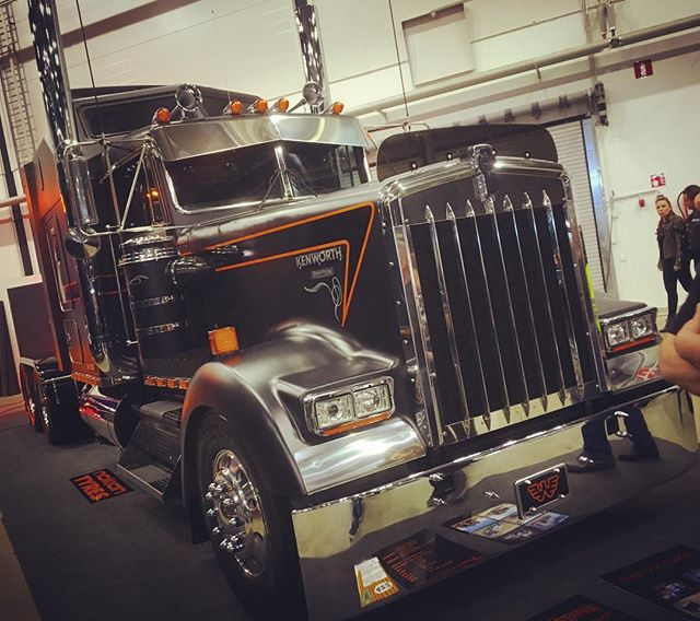 When cool rigs are built, they're built in Savonlinna at Silicone Express. Hot Rod & Rock Show, Tampere, Finland.