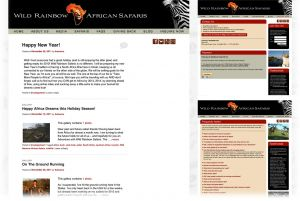 Wild Rainbow African Safaris  |  Blog + Sub Pages