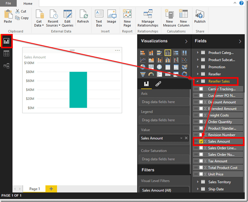 Power BI Desktop 22