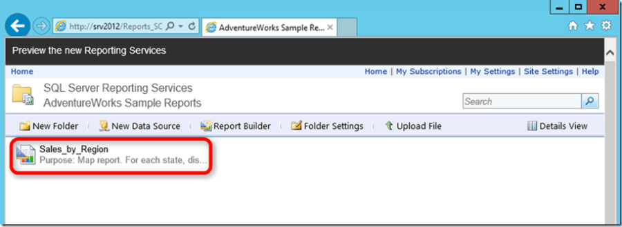 SSRS 2016 Report Manager