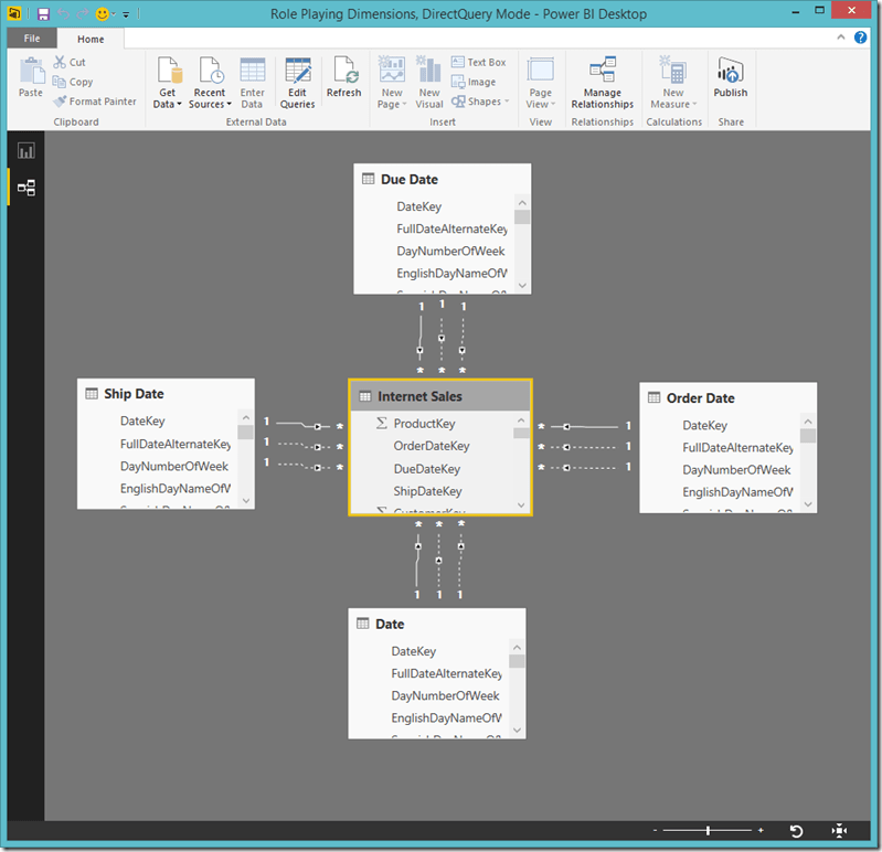 Power BI Desktop Relationships 2