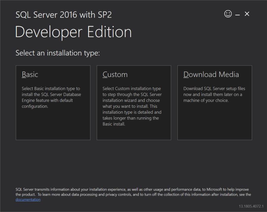 带SP2的SQL Server Developer Edition