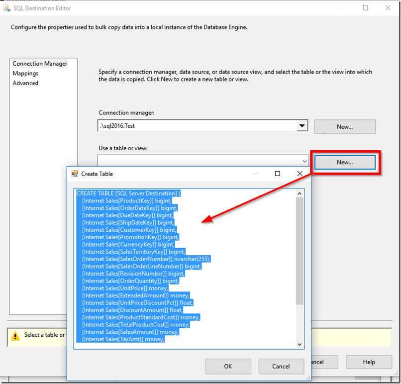 Exporting Power BI Data to SQL Server