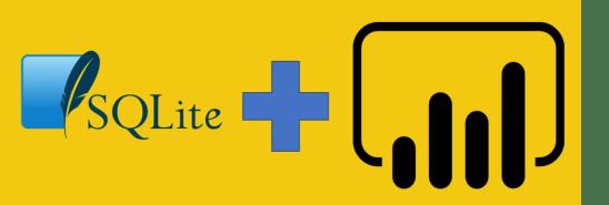 SQLite + Power BI