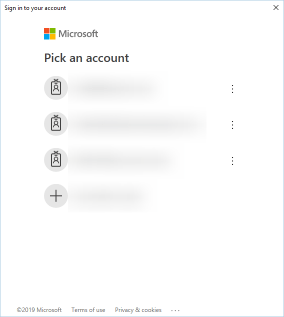Microsoft Login Credentials