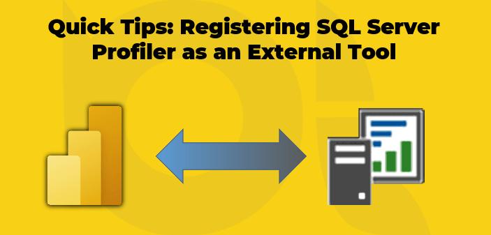 Registering SQL Server Profiler as an External Tool