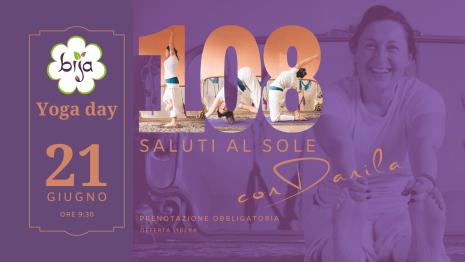 108 saluti al sole yoga