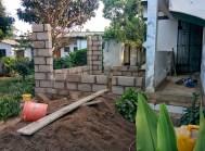 En ook het optrekken van de muren was in twee dagen gebeurd.