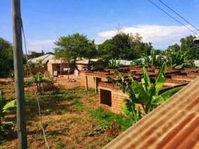 Onze buren zijn de afgelopen jaren niet veel verder gekomen met het afbouwen van hun huis.