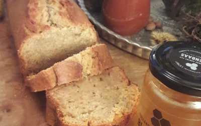 Bananenbrood met Bijenbaas honing