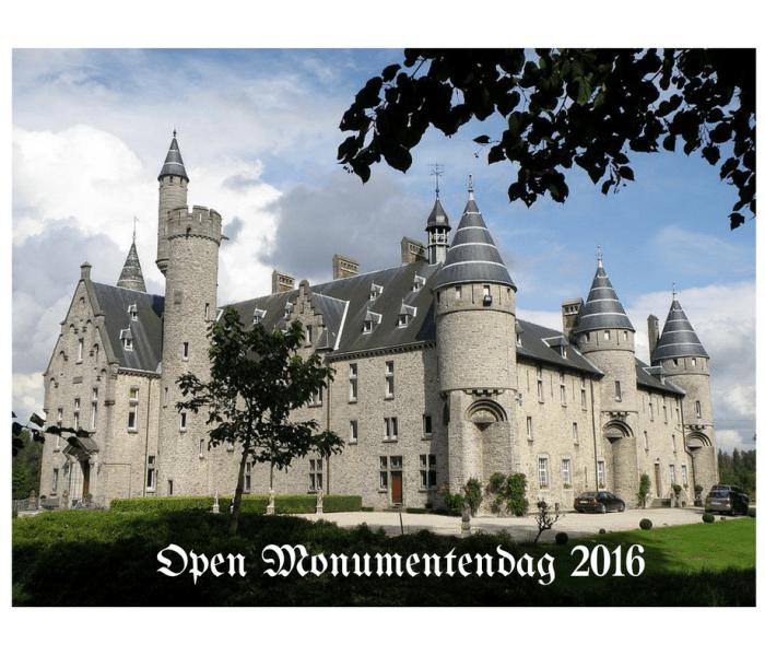 Waar naartoe ? Open Monumentendag 2016