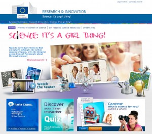 Science: It's a GirlThing Campagnesite