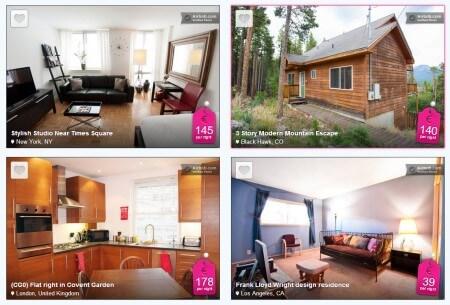 airbnb huizen
