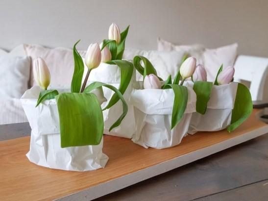 DIY met papieren boterhamzakjes