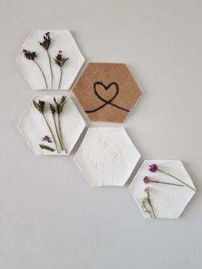 Hexagons maken, quarantaine idee