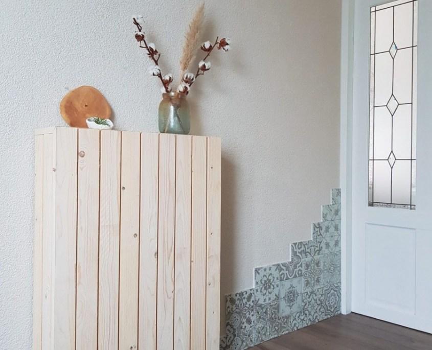 DIY radiator ombouw