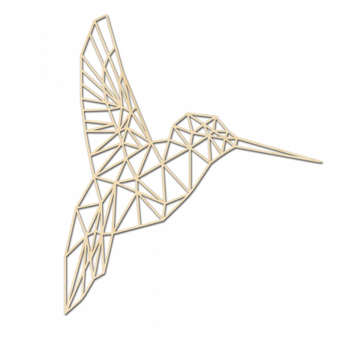 Muurdecoratie kolibrie