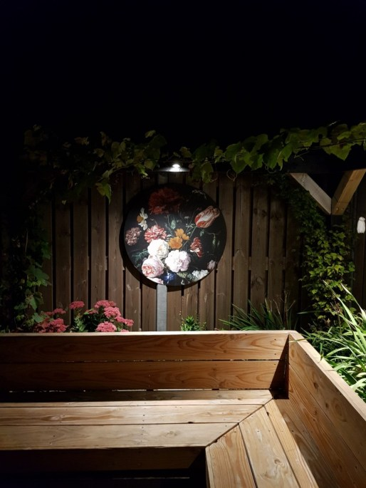 Muurdecoratie tuin + kortingscode